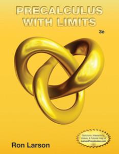 Larson Precalculus Precalculus With Limits 3e Easy Access Study Guide